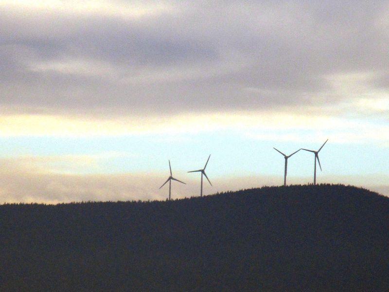 Windräder in der Buckligen Welt