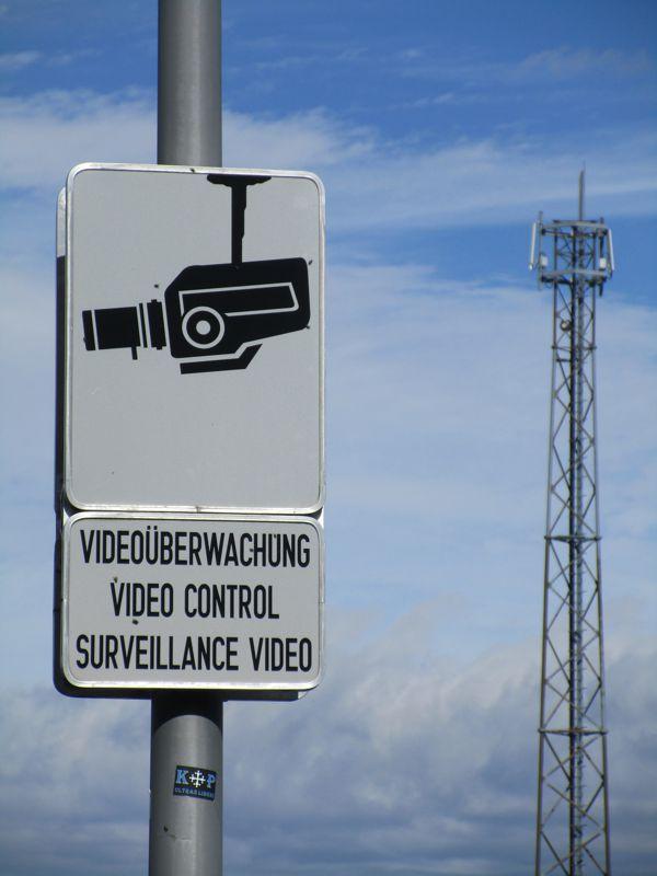 VIDEOÜBERWACHUNG und Mobilfunkmast beim Rastplatz Herzogberg Süd