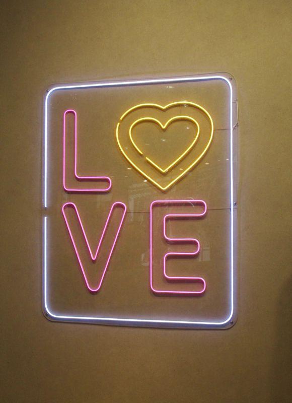 LOVE mit Herz