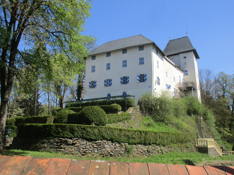 Schloss Drasing am 22. April 2020