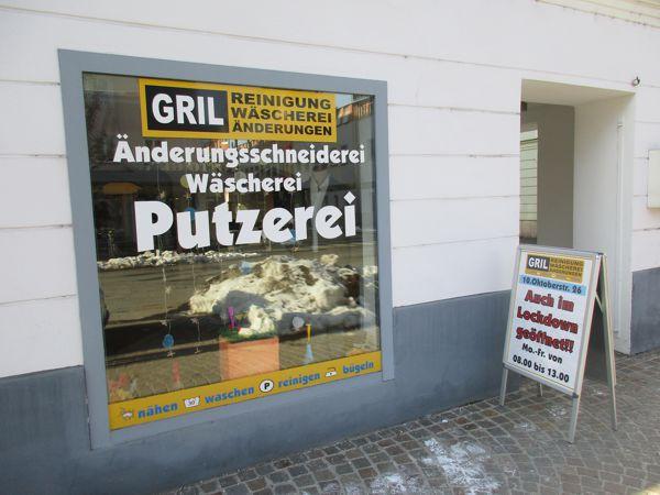 GRIL – Änderungsschneiderei, Wäscherei, Putzerei – Auch im Lockdown geöffnet!!
